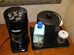 hotel coffee maker