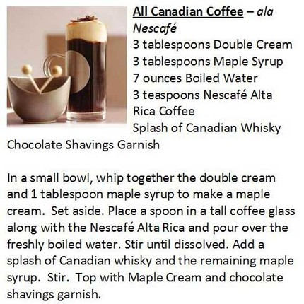 091105122914All Canadian Coffee Recipe