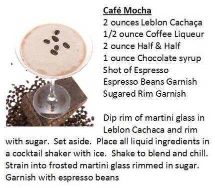 Cafe Mocha Leblon Recipe