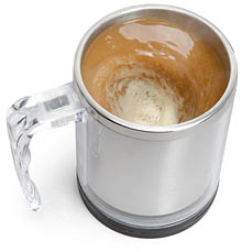 Self Stirring Mug For (Lazy) People