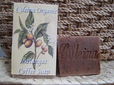 Batangas Coffee Organic Soap