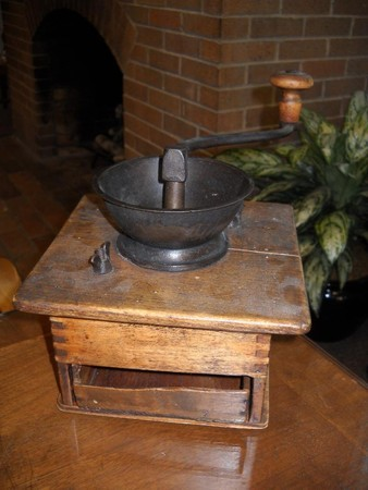 Cool Sunday Find: 1800s Coffee Grinder