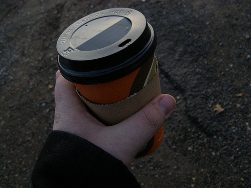Coffee to go?