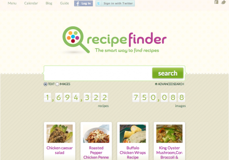 Search for Recipes