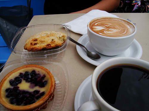 Dessert and Good Coffee