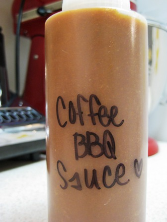 Grilling with Coffee Barbecue Sauce