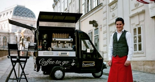 Espressomobil: Vienna's Coffee to Go