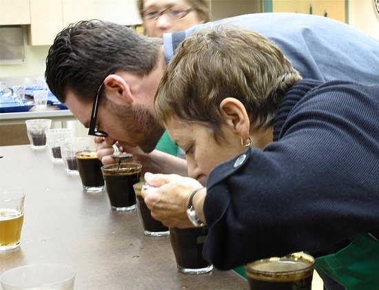 The Art of Coffee Cupping